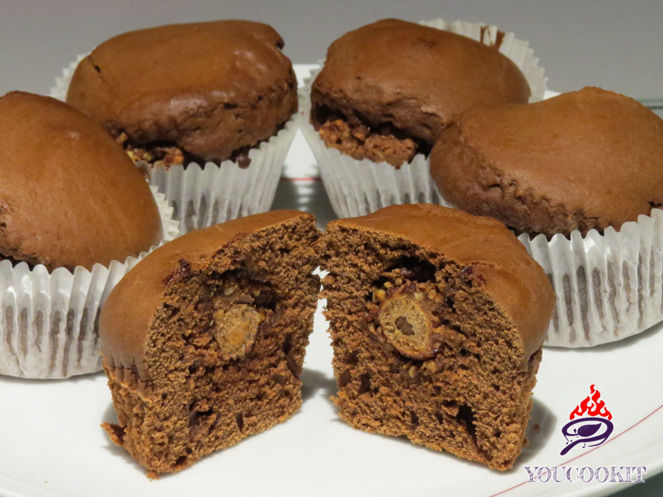 Muffin Ferrero Rocher