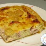 Torta salata alla ricotta e pancetta