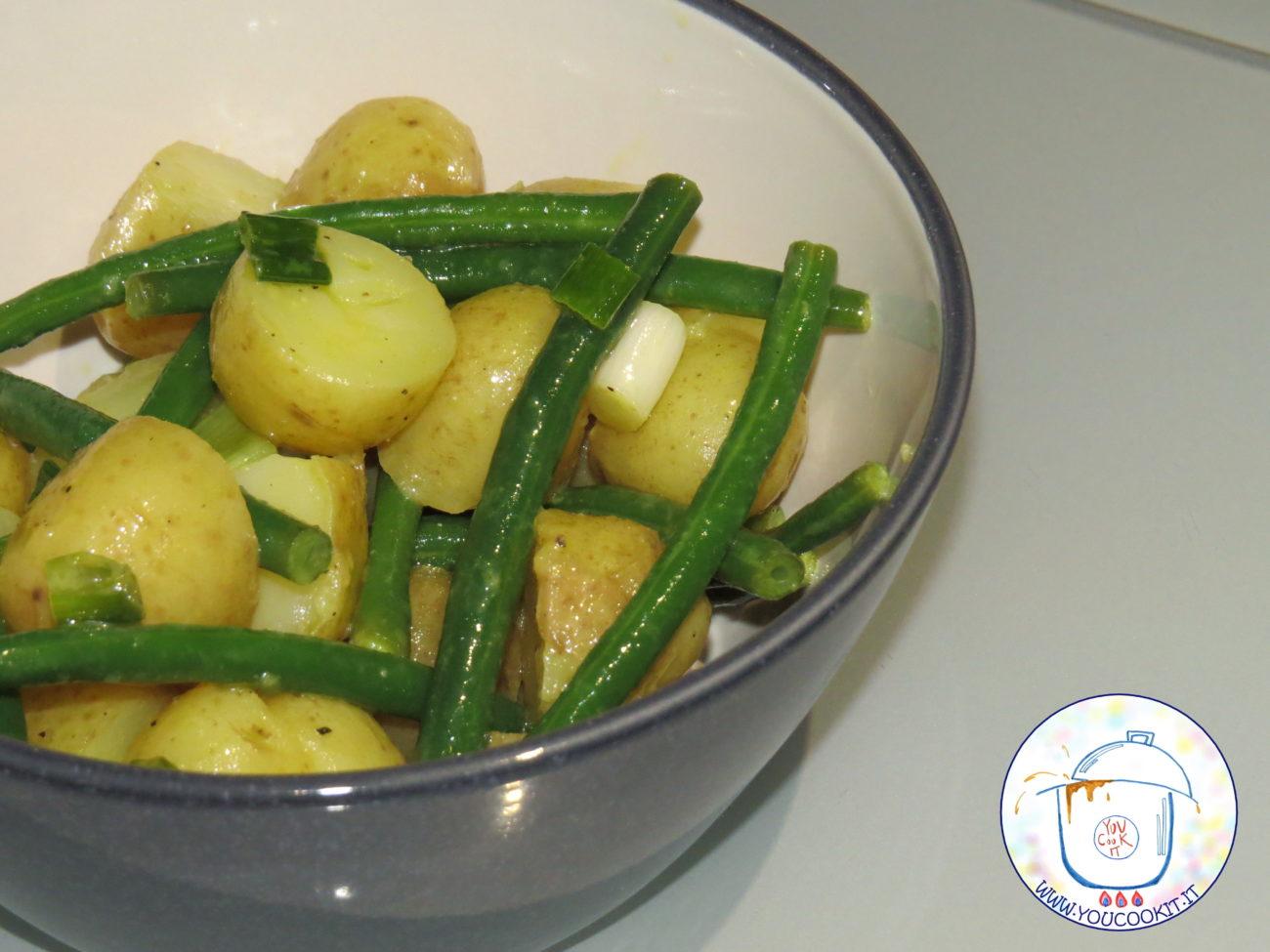 Insalata di fagiolini e patate novelle