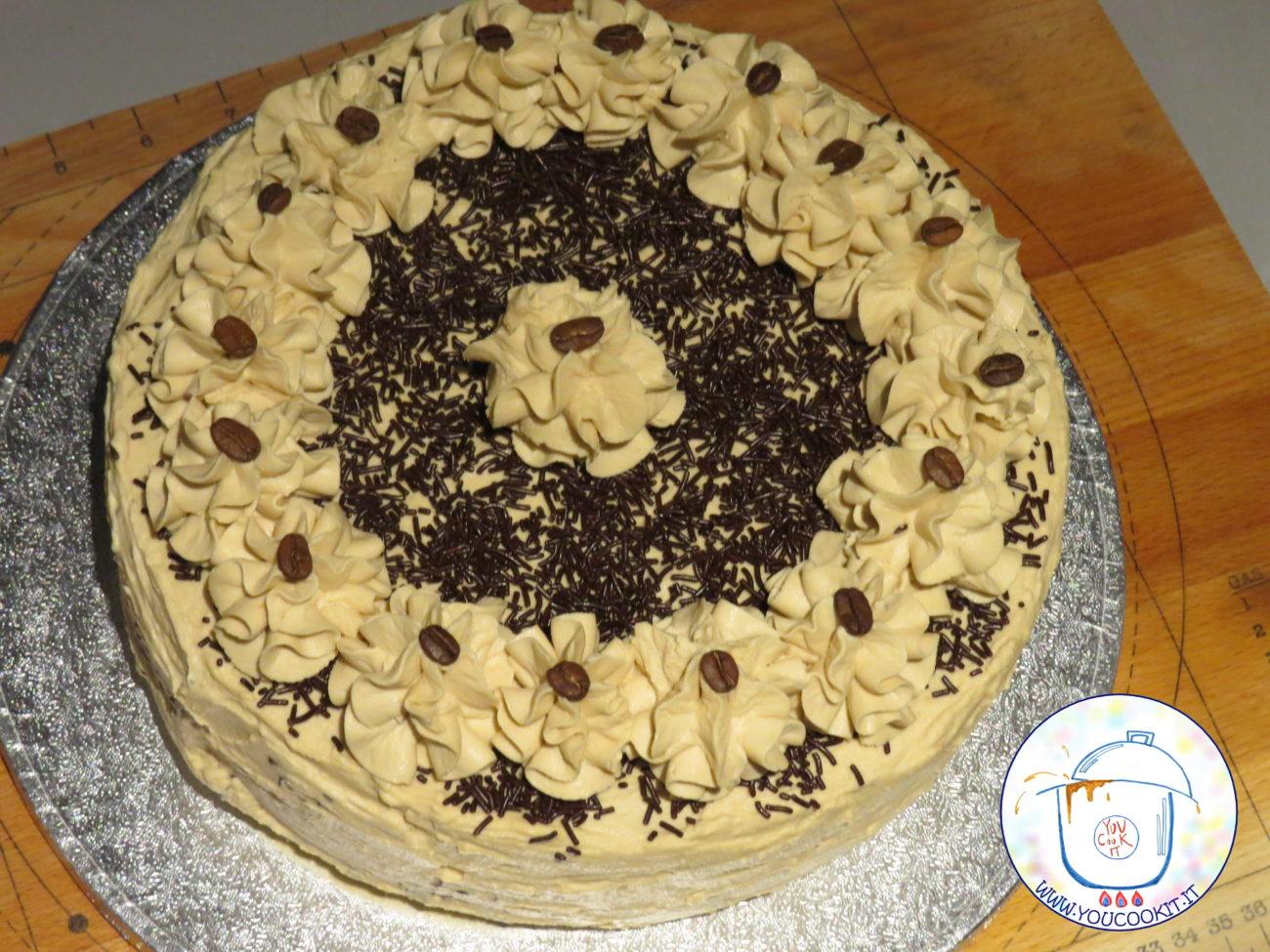 Torta caffellatte allo zabaione