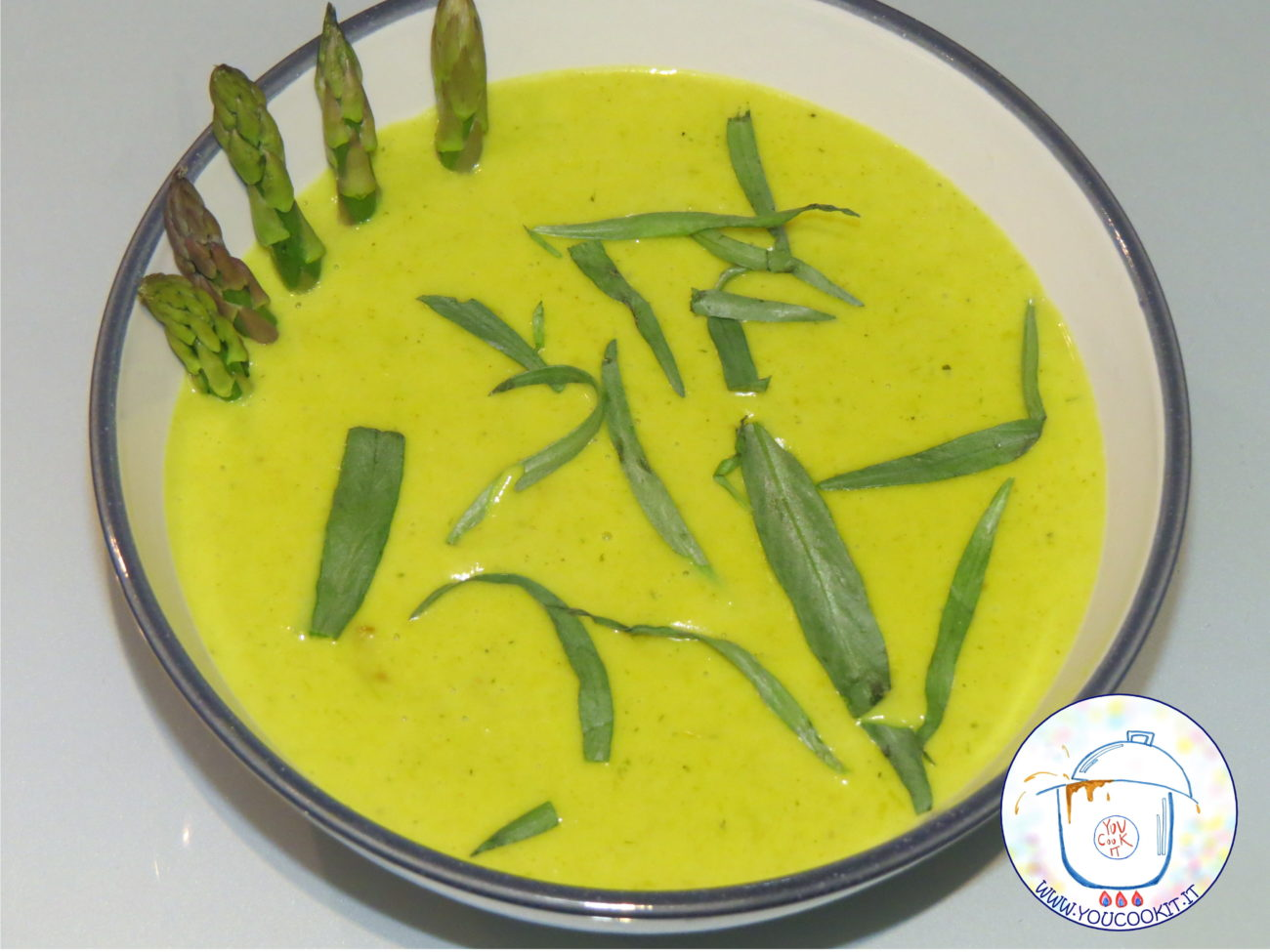 Zuppa vellutata di asparagi