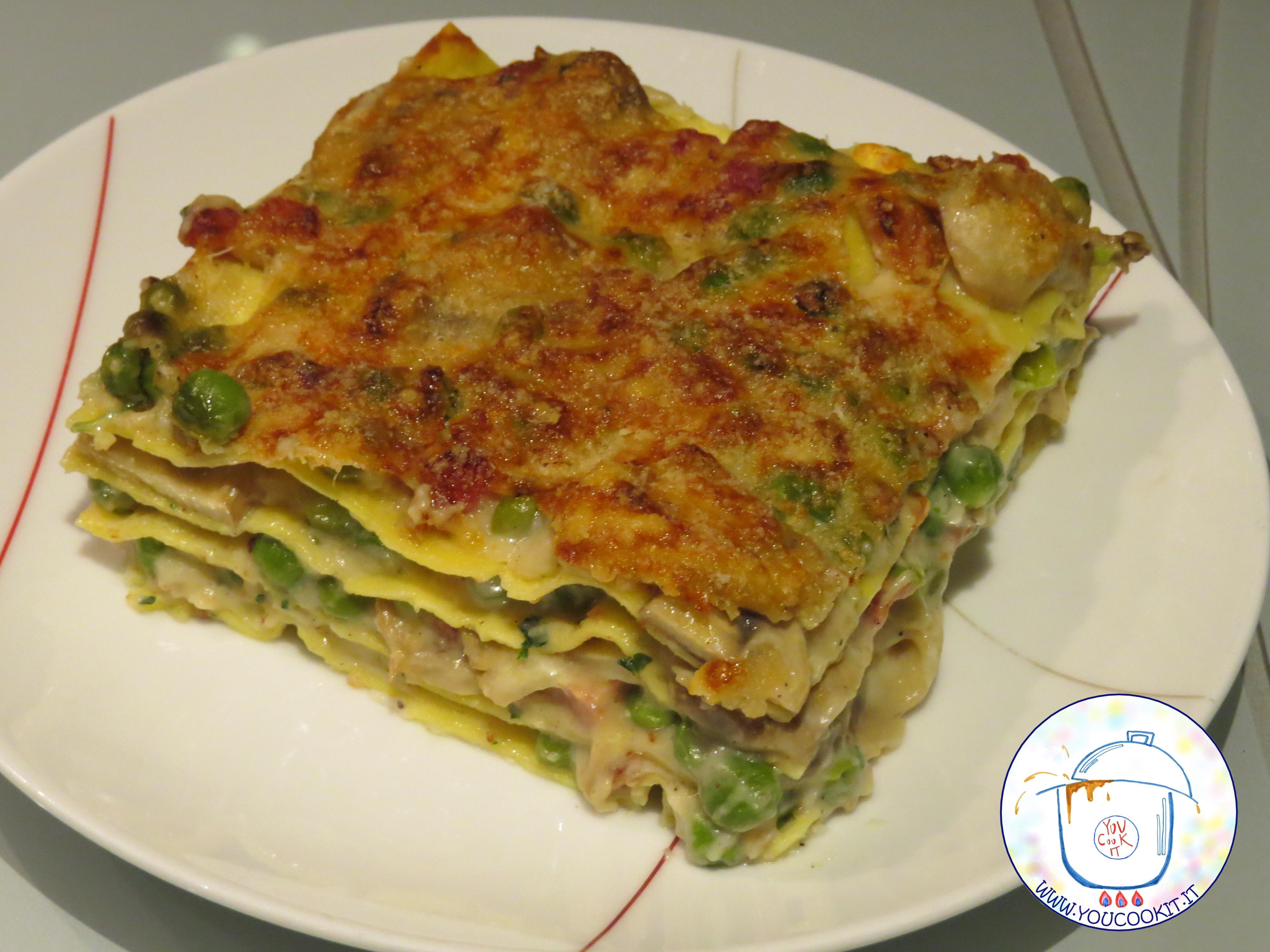 Ricetta Lasagne Bianche.Lasagne Bianche Youcookit